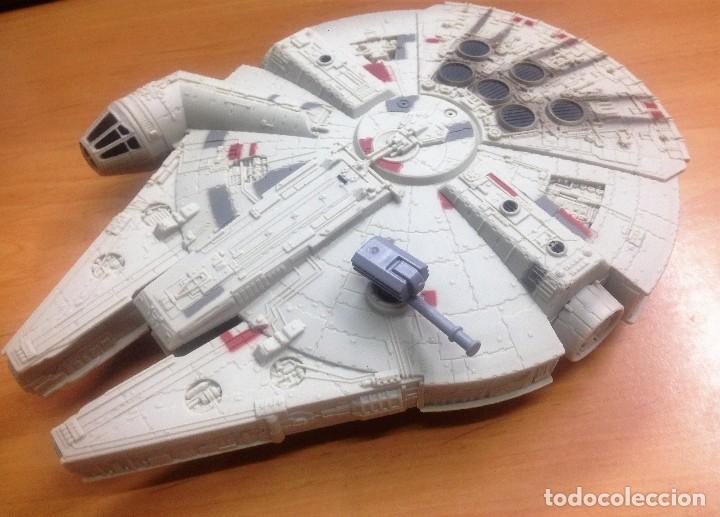 Figuras y Muñecos Star Wars: NAVE STAR WARS EL HALCON MILENARIO FABRICADO POR HASBRO SA - Foto 2 - 129090303