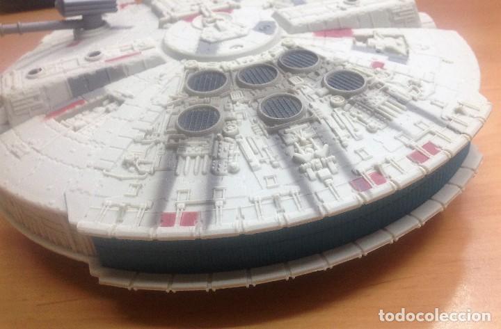 Figuras y Muñecos Star Wars: NAVE STAR WARS EL HALCON MILENARIO FABRICADO POR HASBRO SA - Foto 3 - 129090303
