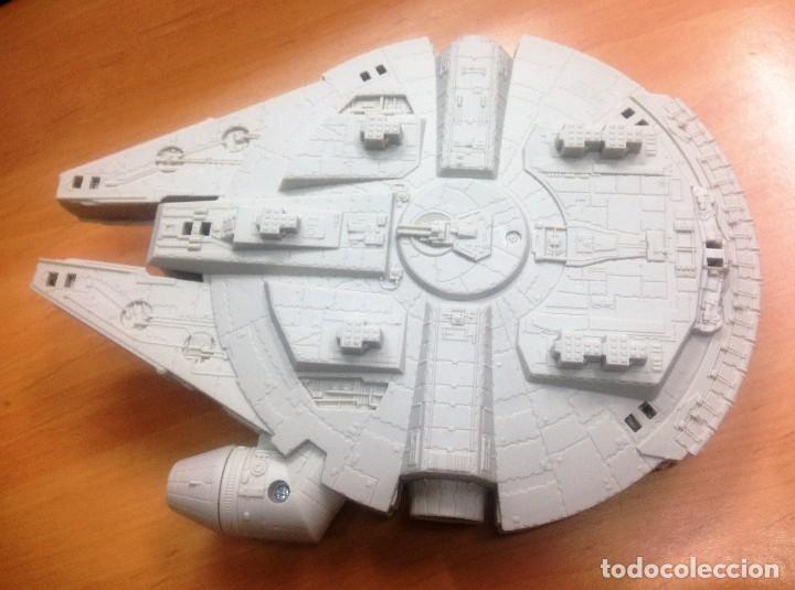Figuras y Muñecos Star Wars: NAVE STAR WARS EL HALCON MILENARIO FABRICADO POR HASBRO SA - Foto 4 - 129090303