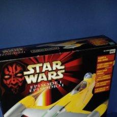 Figuras y Muñecos Star Wars: STAR WARS NABOO FIGHTER EPISODE I HASBRO. Lote 129095115