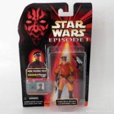 Figuras y Muñecos Star Wars: STAR WARS EPISODIO I: NABOO ROYAL SECURITY (1999) - HASBRO - SIN ABRIR, A ESTRENAR. Lote 129450647
