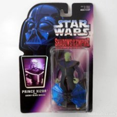 Figuras y Muñecos Star Wars: STAR WARS SHADOWS OF THE EMPIRE: PRINCE XIZOR (1996) - HASBRO - SIN ABRIR, A ESTRENAR. Lote 129451171