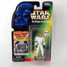 Figuras y Muñecos Star Wars: STAR WARS POTF2: FREEZE FRAME LUKE STORMTROOPER DISGUISE (1996) - HASBRO - SIN ABRIR, A ESTRENAR. Lote 129451423