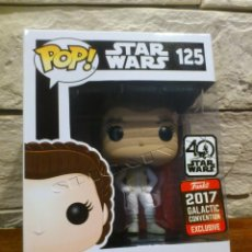 Figuras y Muñecos Star Wars: STAR WARS - FUNKO - PRINCESS LEIA - HOTH - 125 - POP - GALACTIC CONVENTION 2017 - NUEVO - EXCLUSIVO. Lote 129517835