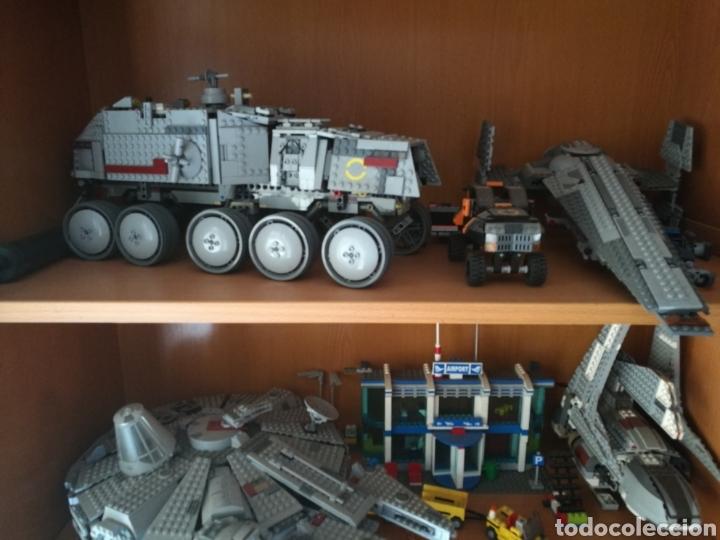 LOTE SURTIDO LEGO STARS WARS, MONSTERS, NINJAGO + FIGURAS + MANUALES (Juguetes - Figuras de Acción - Star Wars)