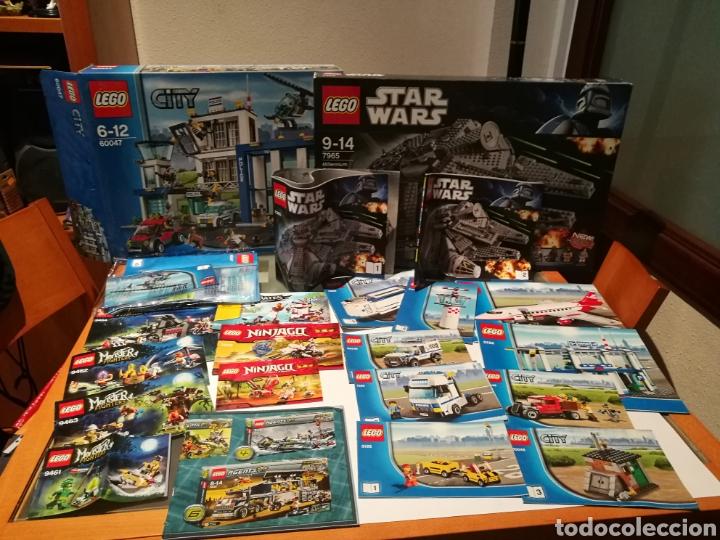 Figuras y Muñecos Star Wars: Lote surtido lego Stars wars, Monsters, Ninjago + Figuras + Manuales - Foto 9 - 130202770