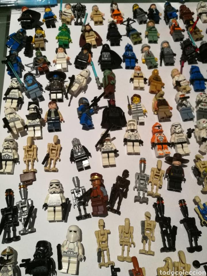Figuras y Muñecos Star Wars: Lote surtido lego Stars wars, Monsters, Ninjago + Figuras + Manuales - Foto 11 - 130202770