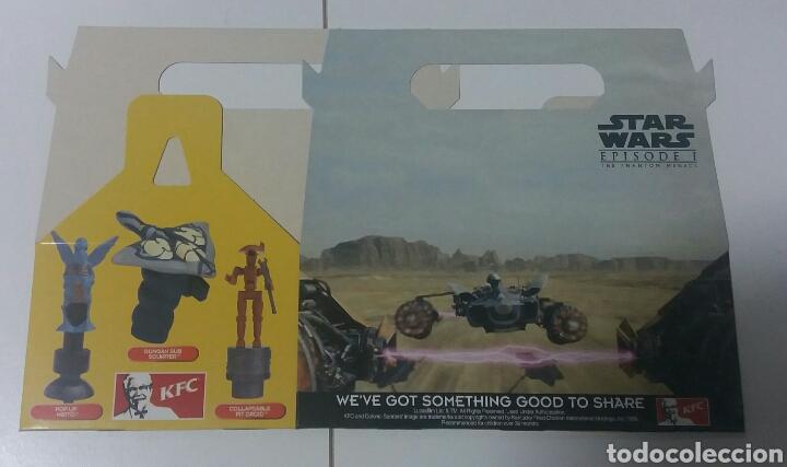 Figuras y Muñecos Star Wars: Star Wars Episodio 1 KFC juguetes + caja promocion - Foto 2 - 130281003