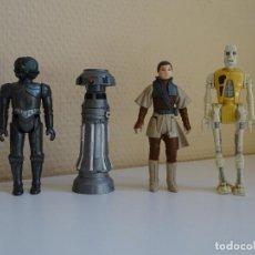 Figuras y Muñecos Star Wars: LOTE STAR WARS VINTAGE - ZUCKUSS - FX 7 MEDICAL DROID - LEIA BOUSHH - 8D8 DROID. Lote 130612914