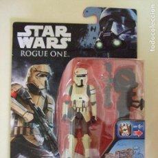 Figuras y Muñecos Star Wars: FIGURA SHORETROOPER SOLDADO IMPERIAL SCARIF- STAR WARS ROGUE ONE - DISNEY HASBRO. Lote 130693629