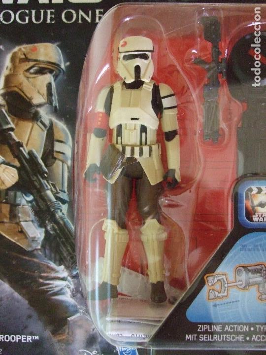 Figuras y Muñecos Star Wars: FIGURA SHORETROOPER SOLDADO IMPERIAL SCARIF- STAR WARS ROGUE ONE - DISNEY HASBRO - Foto 2 - 130693629