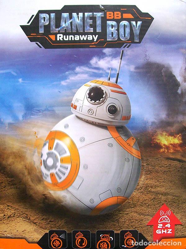 Figuras y Muñecos Star Wars: STAR WARS - DROIDE BB-8 RADIOCONTROL - Foto 4 - 130909056