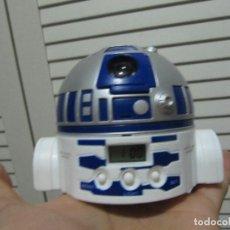 Figuras y Muñecos Star Wars: RELOJ DESPERTADOR STAR WARS COLA CAO R2 D2. Lote 148853766