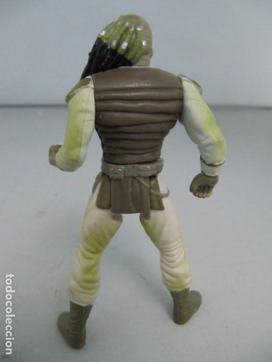 Figuras y Muñecos Star Wars: Figura de Star Wars de Kennen 1997 - Weequay. Tamaño 10 cm de altura - Foto 2 - 130973408