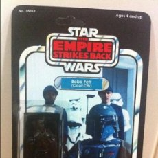 Figuras y Muñecos Star Wars: FIGURA BOOTLEG STAR WARS - EL IMPERIO CONTRAATACA: HAN SOLO EN CARBONITA. BLÍSTER INTACTO. Lote 131223272