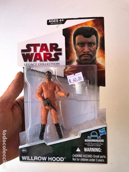 WILLROW HOOD - STAR WARS LEGACY COLLECTION - NUEVA A ESTRENAR (Juguetes - Figuras de Acción - Star Wars)