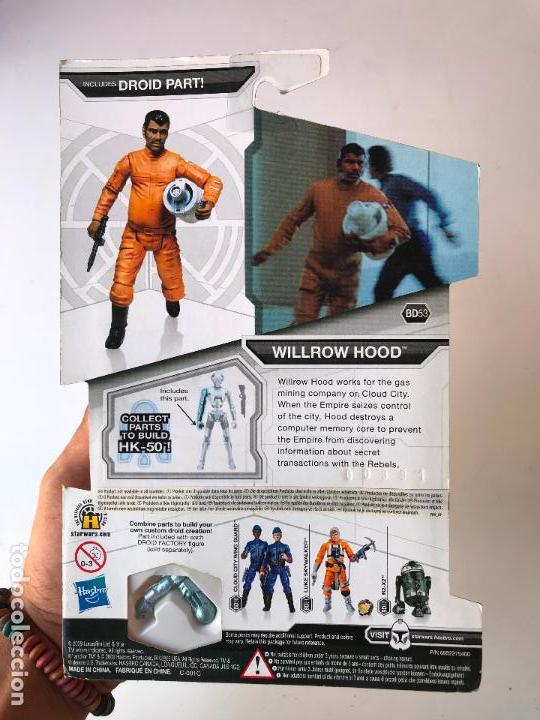 Figuras y Muñecos Star Wars: Willrow hood - star wars legacy collection - Nueva a estrenar - Foto 2 - 131387090