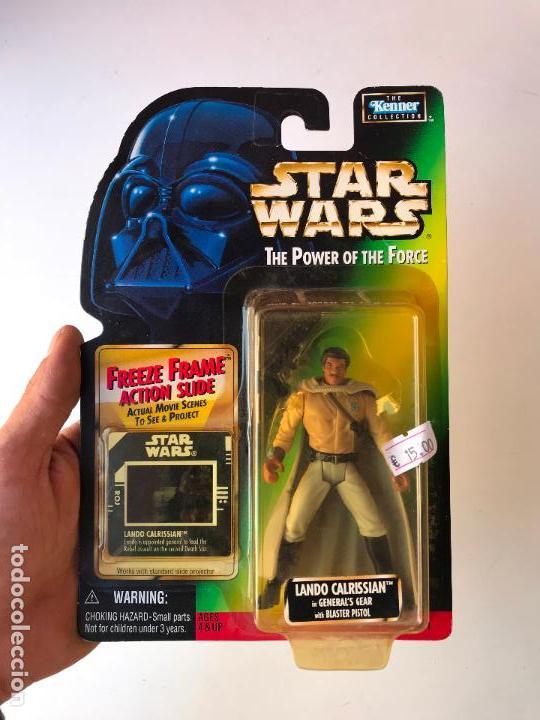 LANDO CALRISSIAN - STAR WARS THE POWER OF THE FORCE - NUEVA (Juguetes - Figuras de Acción - Star Wars)