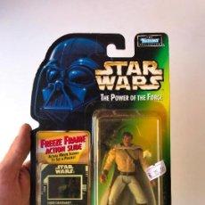 Figuras y Muñecos Star Wars: LANDO CALRISSIAN - STAR WARS THE POWER OF THE FORCE - NUEVA. Lote 131387490