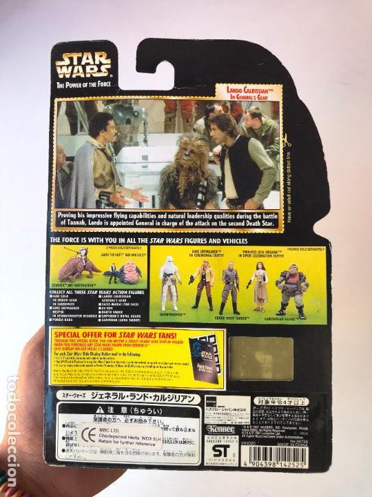 Figuras y Muñecos Star Wars: Lando Calrissian - star wars the power of the force - nueva - Foto 2 - 131387490