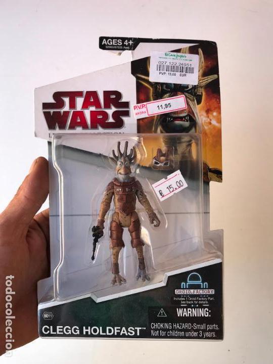 CLEGG HOLDFAST - STAR WARS LEGACY COLLECTION - NUEVA (Juguetes - Figuras de Acción - Star Wars)