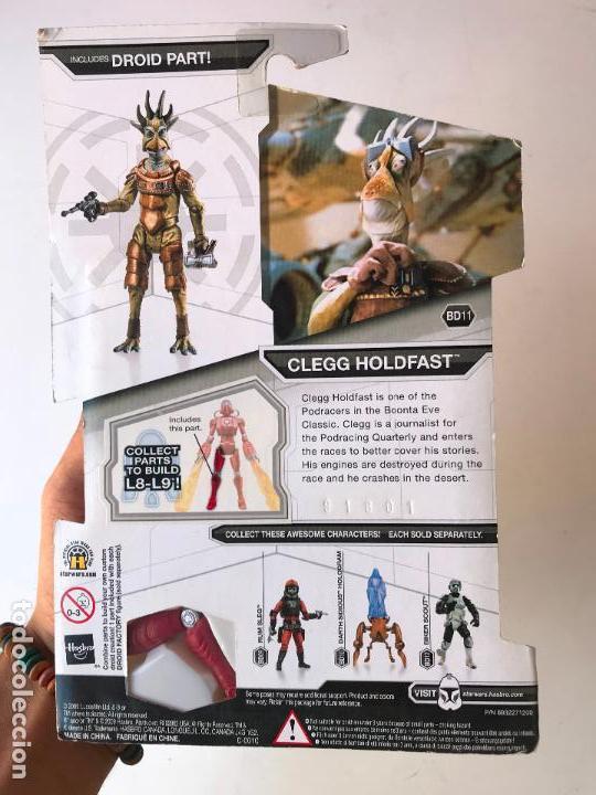 Figuras y Muñecos Star Wars: Clegg Holdfast - star wars legacy collection - nueva - Foto 2 - 131387570
