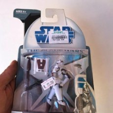 Figuras y Muñecos Star Wars: CLONE TROOPER WITH SPACE GEAR - STAR WARS THE CLONE WARS - NUEVA SIN USO. Lote 131387870