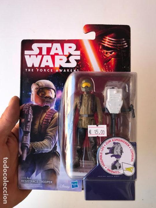 RESISTANCE TROOPER - STAR WARS THE FORCE AWAKENS - NUEVA SIN USO (Juguetes - Figuras de Acción - Star Wars)