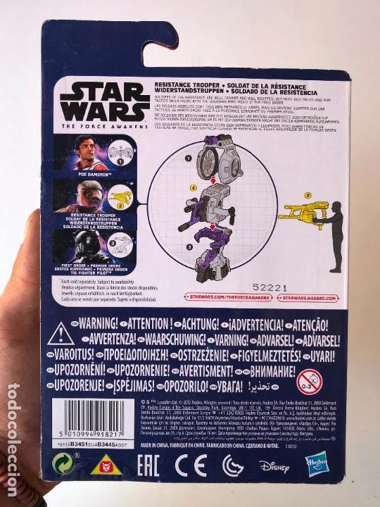 Figuras y Muñecos Star Wars: Resistance trooper - star wars the force awakens - nueva sin uso - Foto 2 - 131388074
