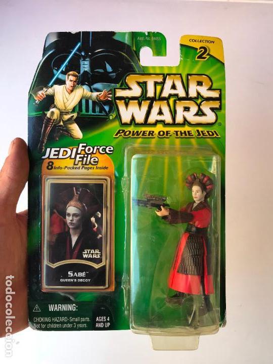 SABE - STAR WARS POWER OF THE JEDI - NUEVA SIN USO (Juguetes - Figuras de Acción - Star Wars)