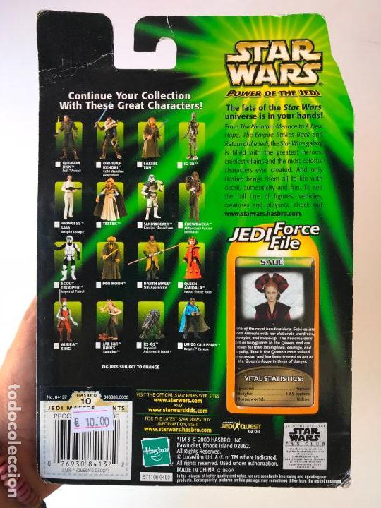 Figuras y Muñecos Star Wars: Sabe - star wars power of the jedi - nueva sin uso - Foto 2 - 131388318