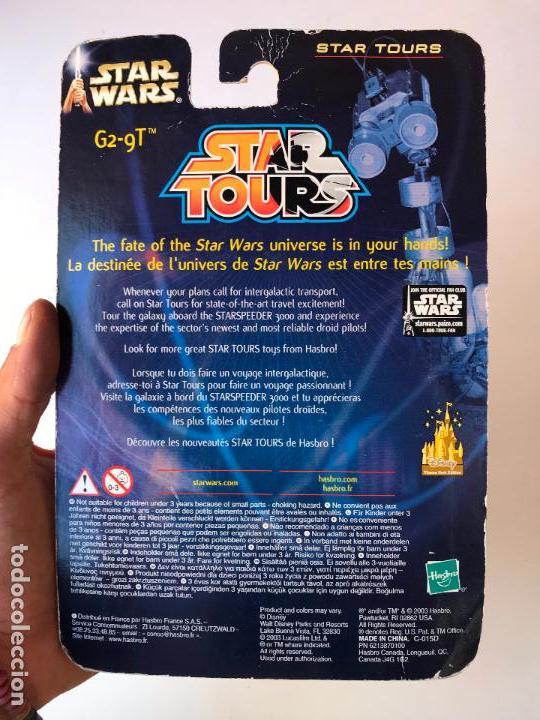 Figuras y Muñecos Star Wars: g2 9t star tours - star wars ataque de los clones- nuevo sin uso - Foto 2 - 131388462