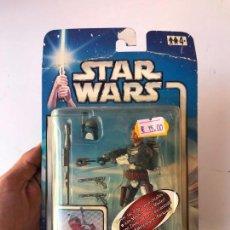 Figuras y Muñecos Star Wars: JANGO FETT - STAR WARS ATAQUE DE LOS CLONES- NUEVO SIN USO. Lote 131388478