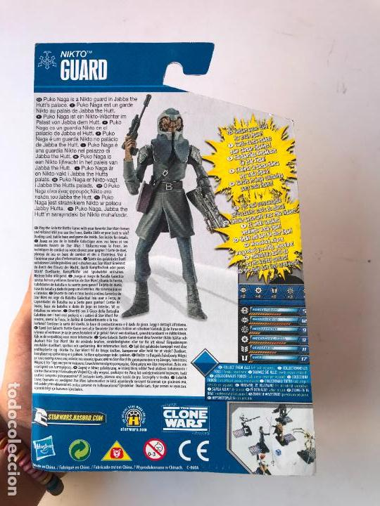 Figuras y Muñecos Star Wars: nikto guard - Figura star wars the clone wars- nueva - Foto 2 - 131440234