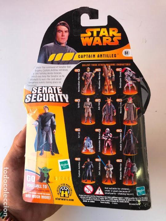 Figuras y Muñecos Star Wars: senate security captain antilles - Figura star wars revenge of the sith - nueva - Foto 2 - 131442970