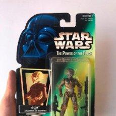 Figuras y Muñecos Star Wars: 4-LOM - FIGURA STAR WARS THE POWER OF THE FORCE - NUEVA. Lote 131443462