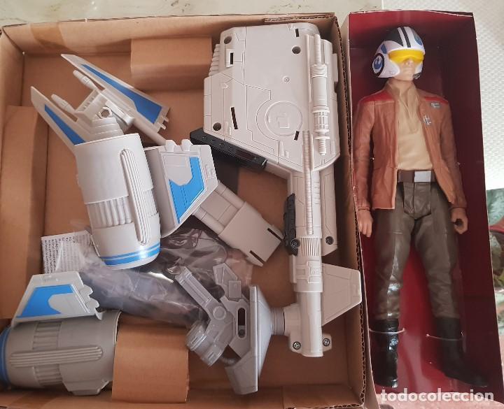 Figuras y Muñecos Star Wars: SPEEDER BIKE + POE DAMERON - Foto 2 - 131681994