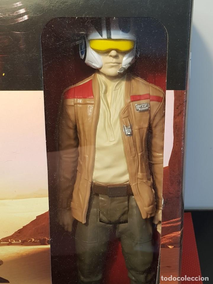 Figuras y Muñecos Star Wars: SPEEDER BIKE + POE DAMERON - Foto 3 - 131681994
