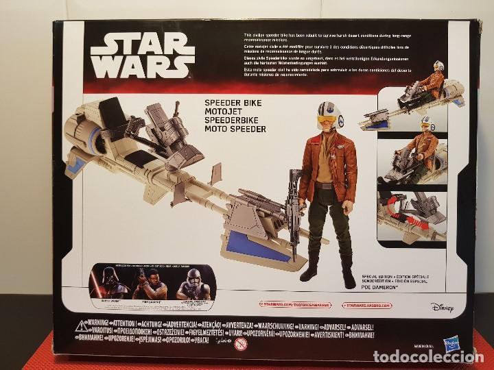 Figuras y Muñecos Star Wars: SPEEDER BIKE + POE DAMERON - Foto 4 - 131681994