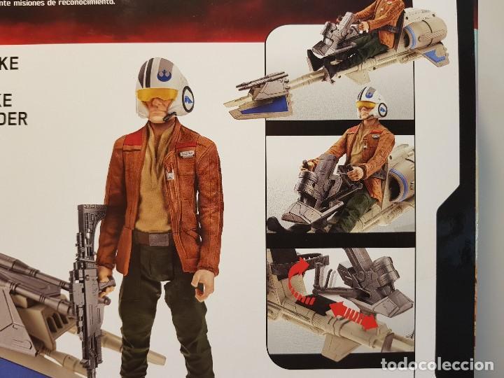 Figuras y Muñecos Star Wars: SPEEDER BIKE + POE DAMERON - Foto 5 - 131681994