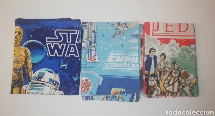 STAR WARS JUEGO SET DE 3 CUBRE ALMOHADA PARA CAMA O COGINES UNA POR CADA PELICULA EDICION AMERICANA (Juguetes - Figuras de Acción - Star Wars)