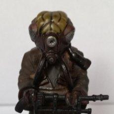 Figuras y Muñecos Star Wars: STAR WARS FIGURAS DE PLOMO, PLANETA DEAGOSTINI: ZUCKUSS CAZARRECOMPENSAS. Lote 131960790