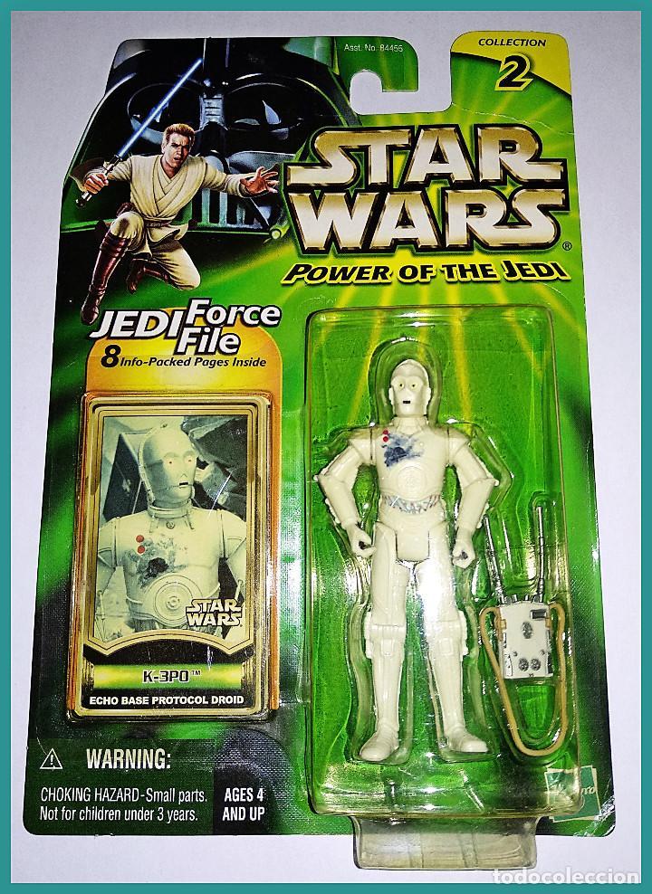 STAR WARS # K.3PO # POWER OF THE JEDI - NUEVO EN SU BLISTER ORIGINAL DE HASBRO. (Juguetes - Figuras de Acción - Star Wars)