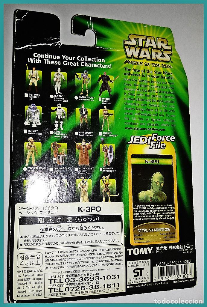 Figuras y Muñecos Star Wars: STAR WARS # K.3PO # POWER OF THE JEDI - NUEVO EN SU BLISTER ORIGINAL DE HASBRO. - Foto 2 - 132033710