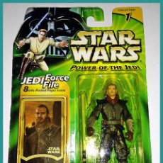 Figuras y Muñecos Star Wars: STAR WARS # QUI-GON JINN # POWER OF THE JEDI - NUEVO EN SU BLISTER ORIGINAL DE HASBRO.. Lote 132035238