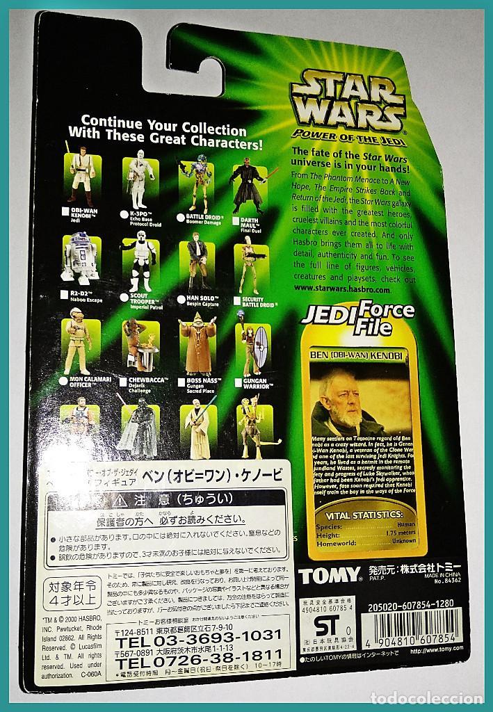 Figuras y Muñecos Star Wars: STAR WARS # BEN ( OBI-WAN ) KENOBI # POWER OF THE JEDI - NUEVO EN SU BLISTER ORIGINAL DE HASBRO. - Foto 2 - 132036658