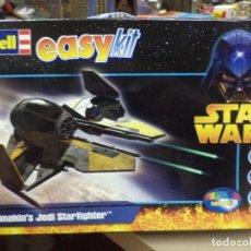 Figuras y Muñecos Star Wars: STARFIGHTER DEL JEDI ANAKIN SKYWALKER.REVELL EASY KIT.. Lote 132241882