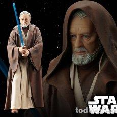 Figuras y Muñecos Star Wars: STAR WARS ESTATUA OBI WAN KENOBI ARTFX KOTOBUKIYA 1/10 NUEVA A ESTRENAR. Lote 132330541
