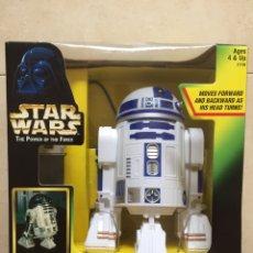 Figuras y Muñecos Star Wars: FIGURA R2-D2 REMOTE CONTROL (TELEDIRIGIDO) - STAR WARS POWER OF THE FORCE - KENNER - 1997. Lote 132732545