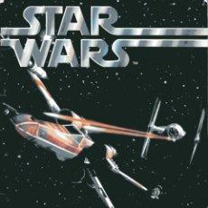 Figuras y Muñecos Star Wars: STAR WARS 1977 Y LLEGADA A LA LUNA. ÁLBUM DE SELLOS HARRIS & CO. CON CAJA ORIGINAL.. Lote 132891738